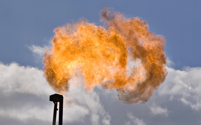 Forage d'exploitation du gaz de schiste. (photo d'illustration)
