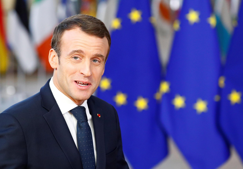 Presidente da França, Emmanuel Macron.