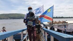Dawowar 'yan gudun hijirar Afrika ta Tsakiya daga Congo.