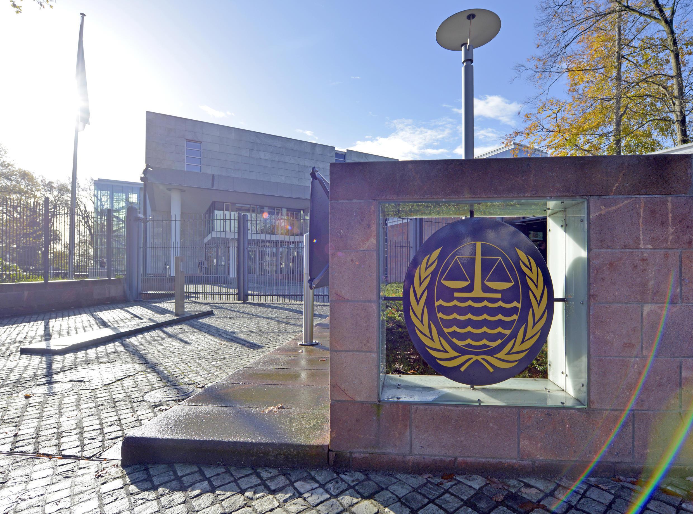 Trụ sở Tòa Án Quốc Tế về Luật Biển (ITLOS), cảng Hamburg, Đức. Ảnh chụp ngày 06/11/2013.
