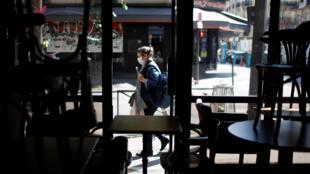 En París y las demás zonas naranjas, sólo las terrazas de los restaurantes podrán abrir por el momento.