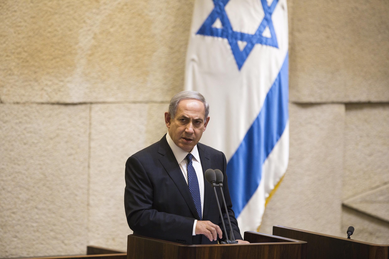 Thủ tướng Israel Benyamin Netanyahu trình bày các biện pháp an ninh, ngày 13/10/2015