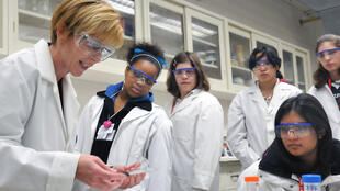 Argonne lab education. Girls can benefit hugely from a mentoring programme.
