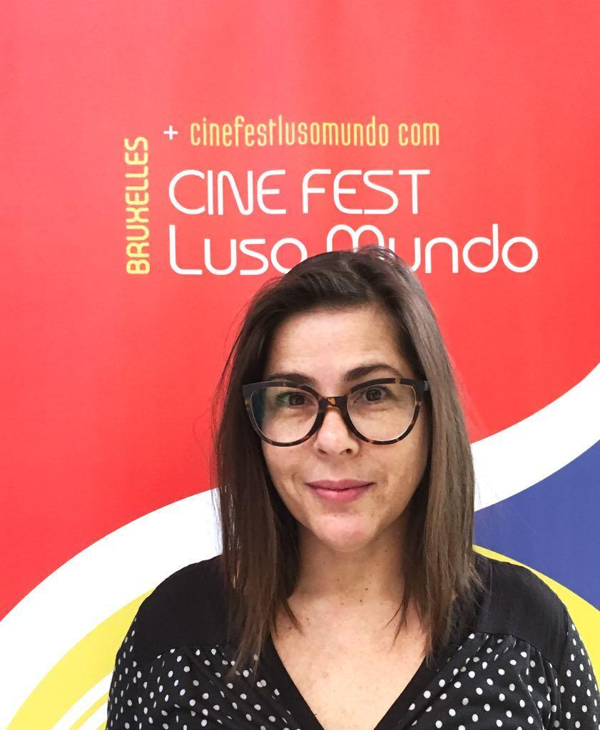 Aline Yasmin, produtora do Cine Luso Fest Mundo