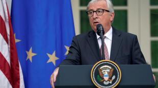 Presidente de la Comisión Europea Jean Claude Juncker.