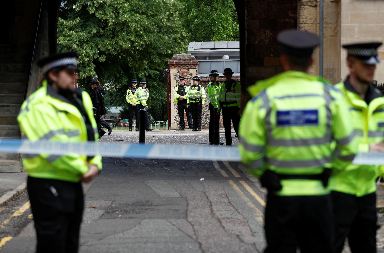 2020-06-21 UK britain police security stabbing reading park terrorism incident