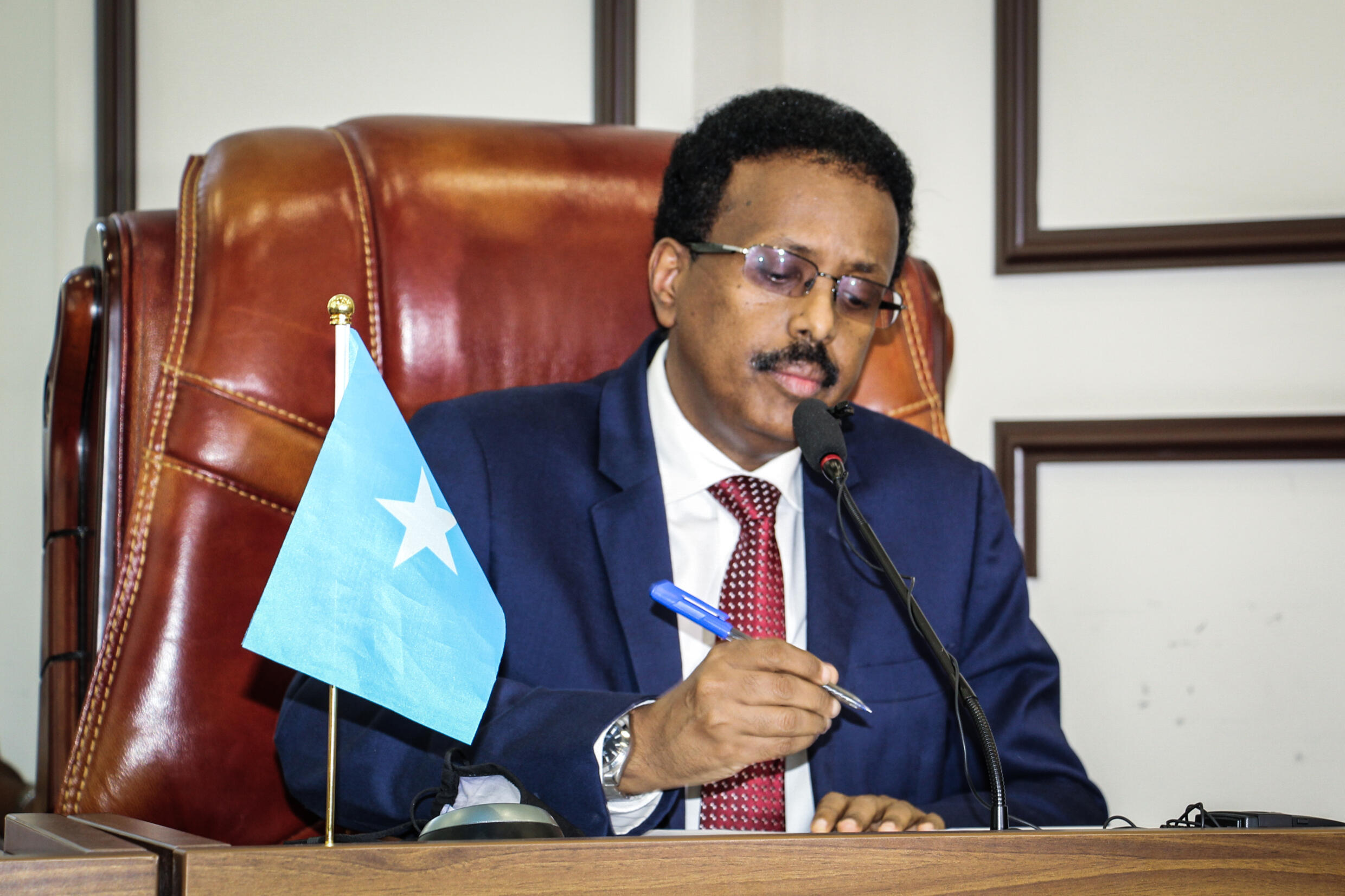 President Mohamed Abdullahi Mohamed triggered Somalia's worst political violence in years by seeking to extend his mandate without elections