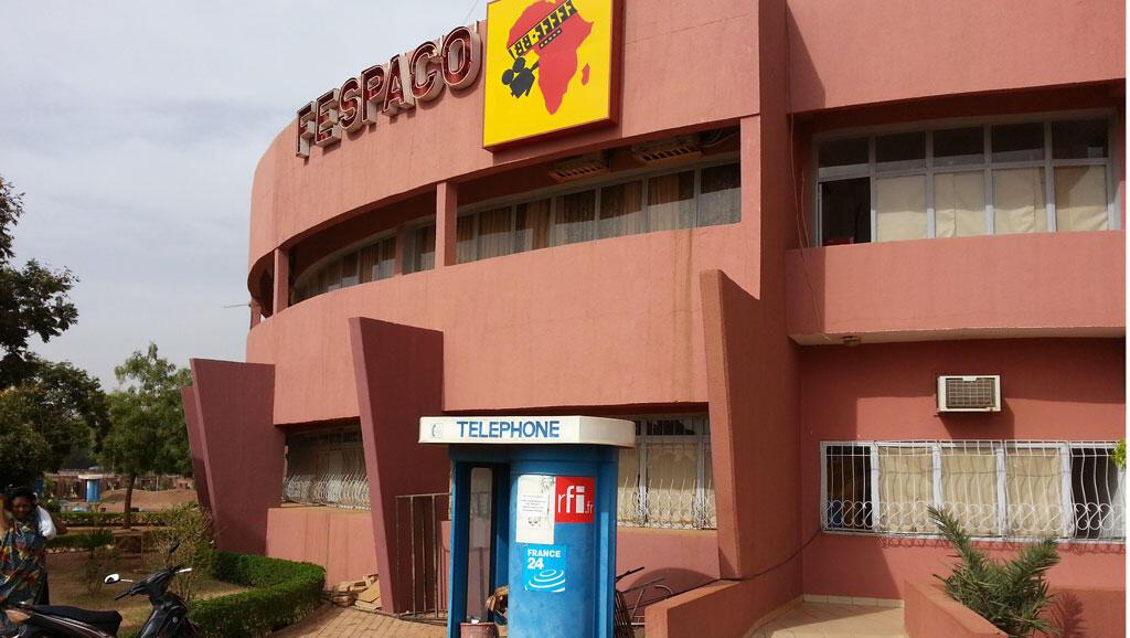 Le siège du Fespaco, sur les rives du Kadiogo, à Ouagadougou.