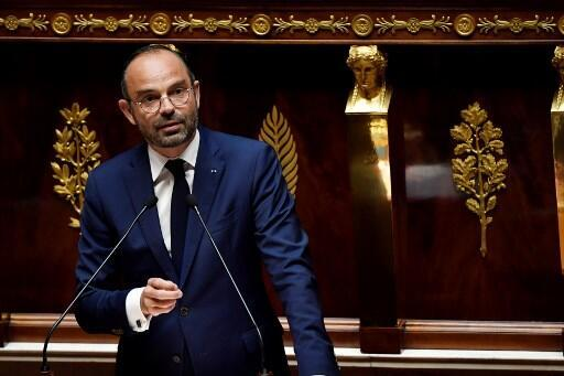 """Edouard Philippe exercised Article 49-3 of the French consitution to """"end the non-debate"""" over pension reform."""