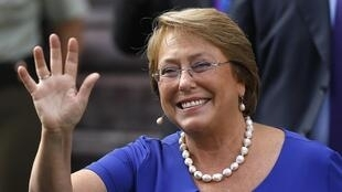 Michelle Bachelet, presidente do Chile.