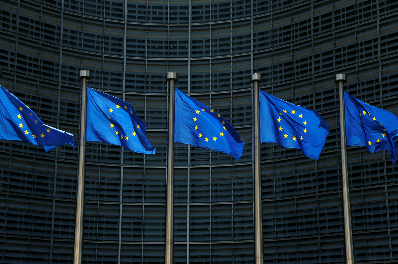 Trụ sở Ủy Ban Châu Âu tại Bruxelles, Bỉ ngày 14/06/2017.