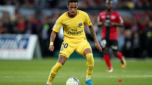 Neymar moved from Barcelona to Paris Saint Germain for 222 million euros at the start of the season