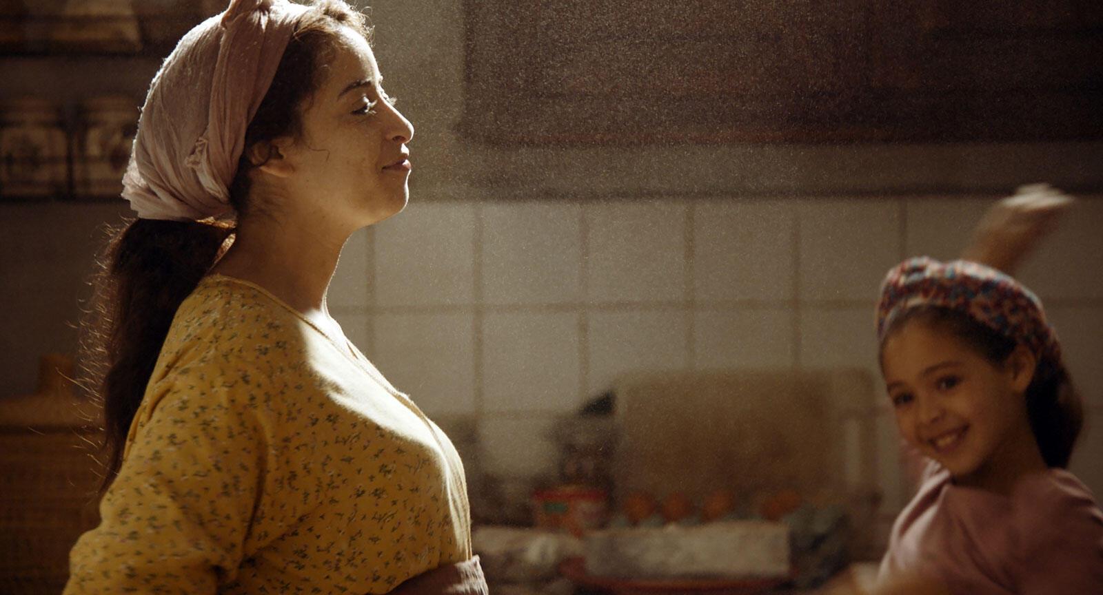 Nisrin Erradi dans « Adam », de la réalisatrice marocaine Maryam Touzani.