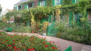 Monet finished some of his most important works at Giverny