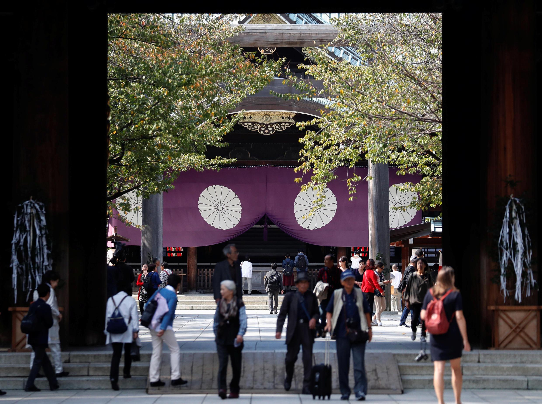日本靖國神社資料圖片