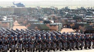 習近平7月31日內蒙古大閱兵