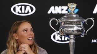 Caroline Wozniacki won her first Grand Slam title at the Australian Open.