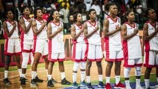 Selecção Moçambicana de basquetebol feminino.
