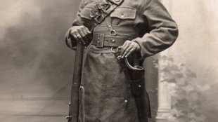 Portrait of an Indian soldier in 1914