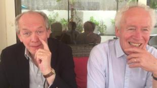 Les cinéastes belges Luc et Jean-Pierre Dardenne, lauréats du 12e prix Lumière, le « prix Nobel » du cinéma. Ici, lors du Festival de Cannes 2019.