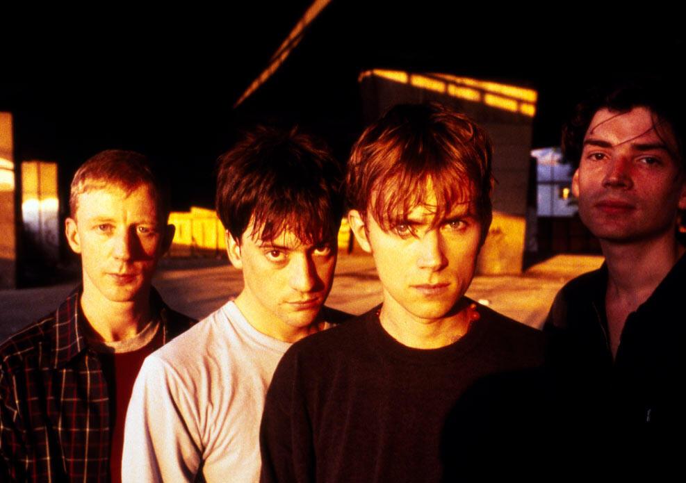 El grupo Blur.