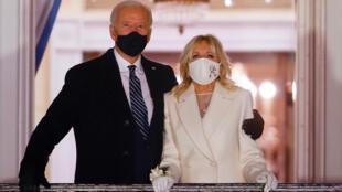 Joe Biden et la première dame Jill Biden