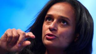 Isabel dos Santos, fille de l'ex-président angolais José Eduardo dos Santos, ancienne PDG de la société pétrolière nationale, Sonangol.
