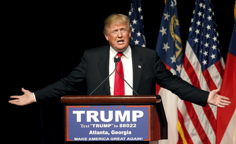 Donald Trump, pré-candidato republicano às eleições presidenciais americanas