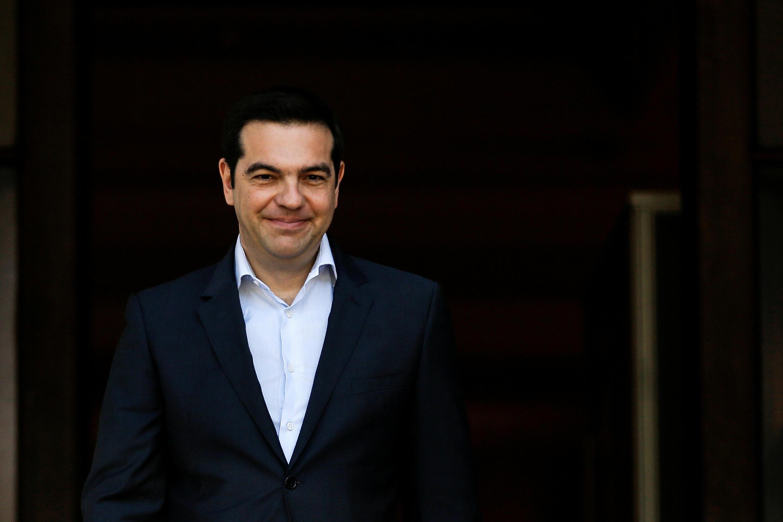 Le Premier ministre grec, Alexis Tsipras  lance officiellement  la construction du Gazoduc « Transadriatic Pipeline » Grèce et l'Albanie pour rejoindre l'Italie et fournir à l'Europe du gaz d'Azerbaïdjan .