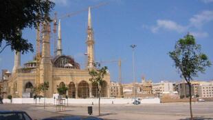 Vue du centre de Beyrouth.