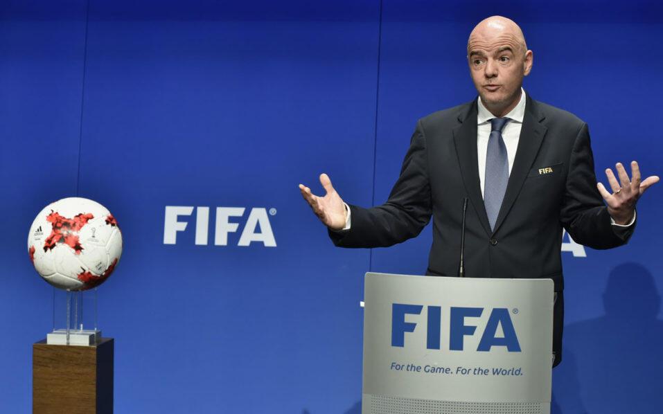 Rais wa Shirikisho la soka duniani FIFA Gianni Infantino