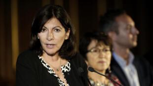The Mayor of Paris, Anne Hidalgo.