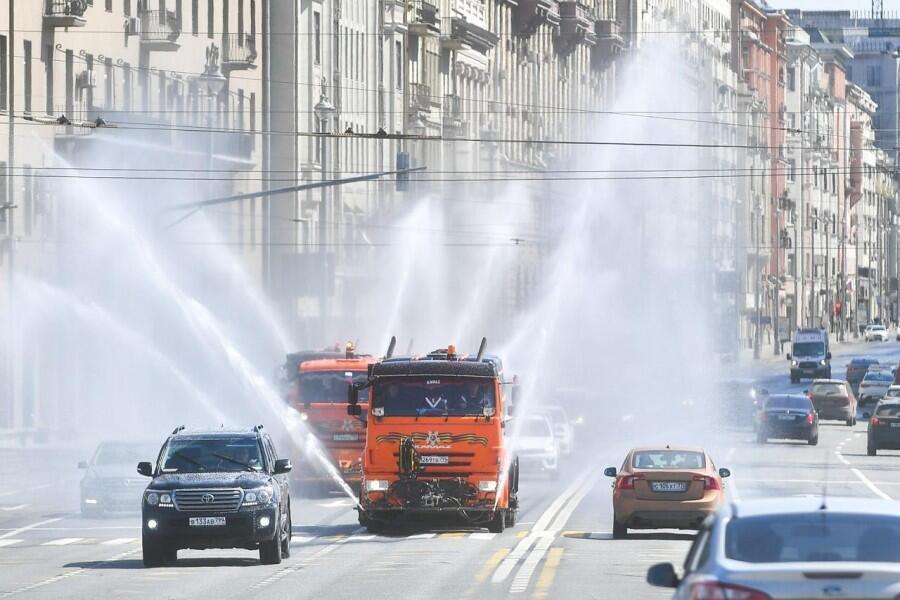 Москва, 1 мая 2020 года