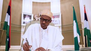 Muhammadu Buhari, le président du Nigeria.