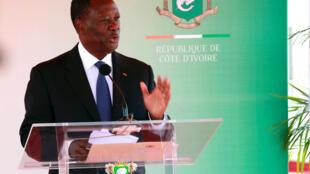 Côte d'Ivoire's Presient Alassane Ouattara