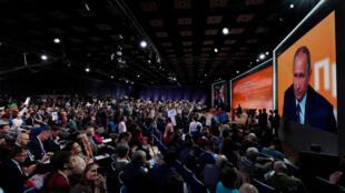 13-я большая пресс-конференция президента России Владимира Путина прошла в четверг, 14 декабря.