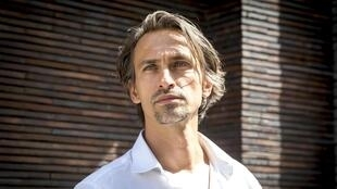 Portrait de l'écrivain Nicolas Fargues.