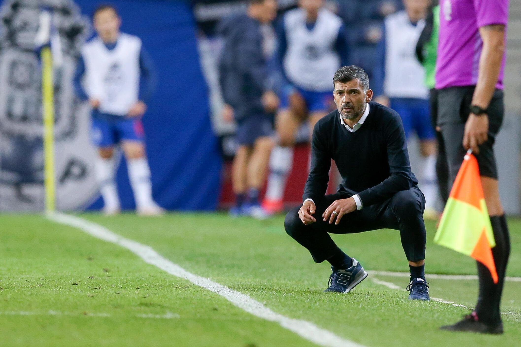 Sérgio Conceição, Treinador português do FC Porto.