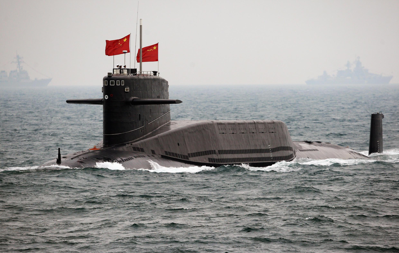 Tàu ngầm Trung Quốc. Ảnh minh họa.