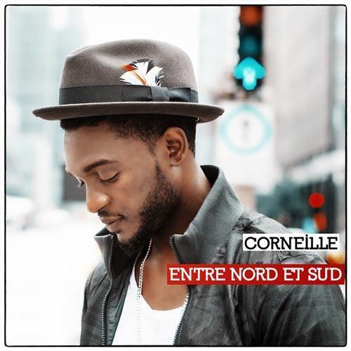 La couverture du nouvel album de Corneille, «Entre Nord et Sud».