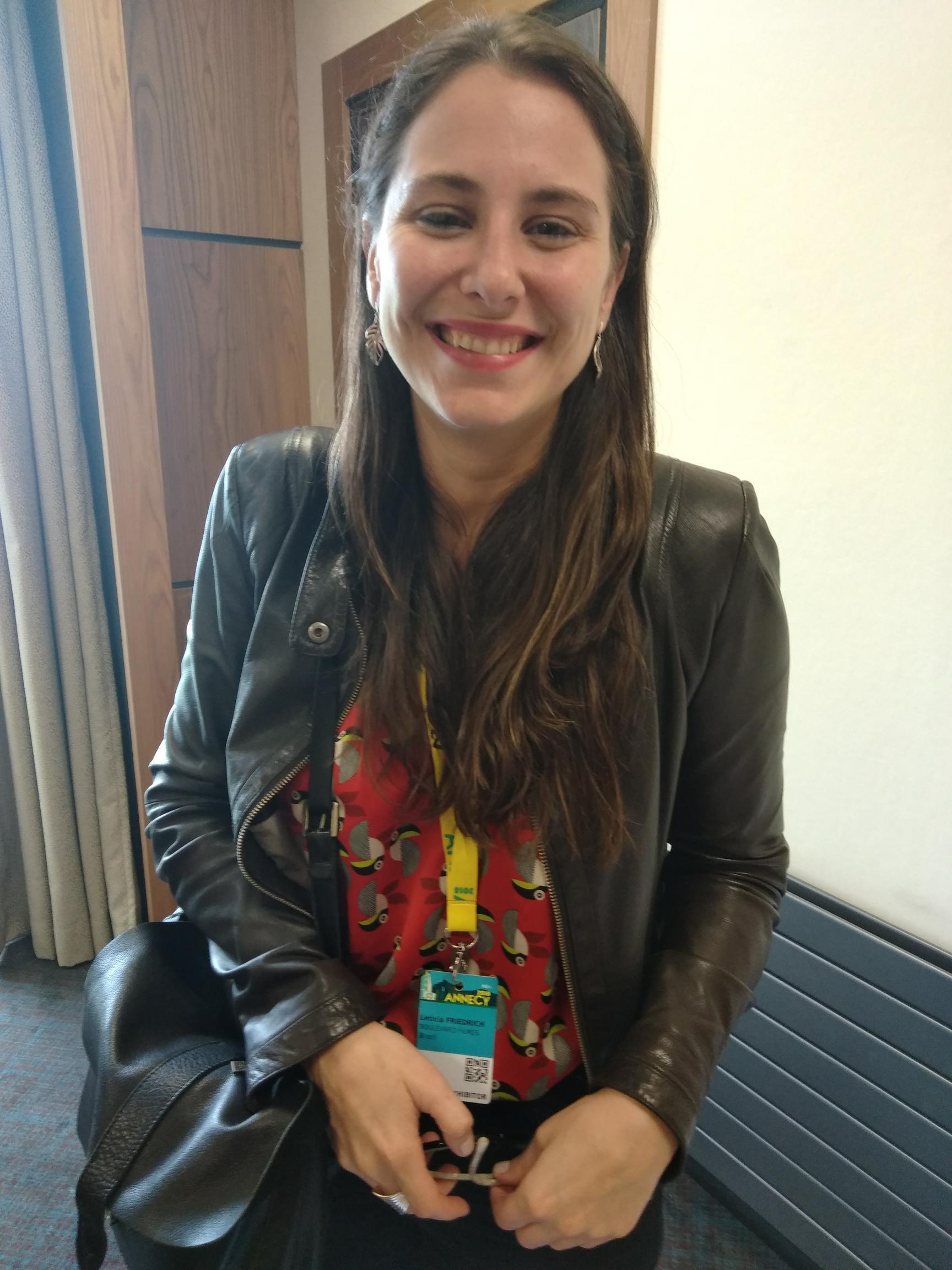 Letícia Friedrich, diretora da Associação Brasileira do Cinema de Animação (ABCA).