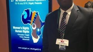 Arcanjo Nascimento, representante permanente de Angola junto da União Africana em Addis Abeba