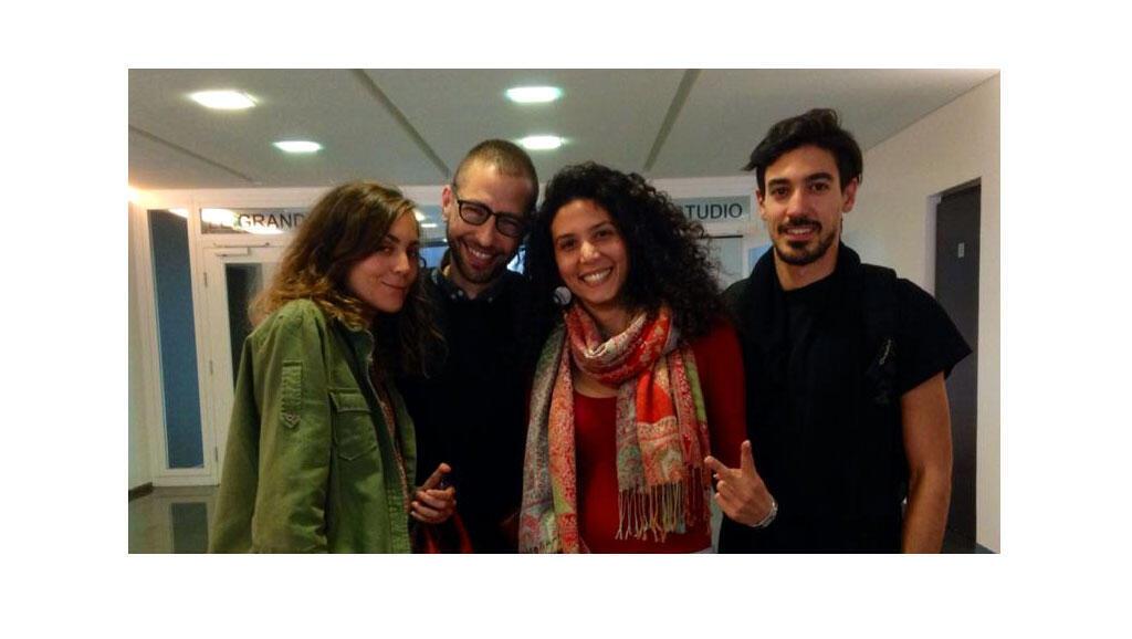 Hind Meddeb, Karim Ech-Choaybi, Salma Sassouki et Amine Mettani à RFI.
