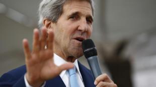John Kerry, waziri wa mashauri ya kigeni wa Marekani anakutana na viongozi wa Umoja wa Afrika.