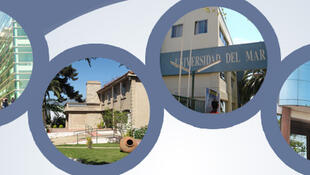 La casa central de la Universidad del Mar se ubica en la ciudad de Viña del Mar y tiene sedes en diversas ciudades de Chile.