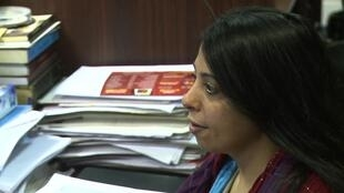 Hoda Nasrallah, avocate des droits de l'homme.