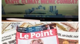 Relações tensas entre Paris e Argel ou Merkel, Patroa da Europa
