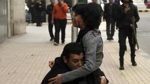 Shaima al-Sabbagh a été tuée samedi 24 janvier au Caire. Ce cliché a fait le tour du monde.