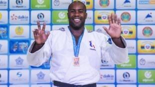 O judoca francês Teddy Riner.