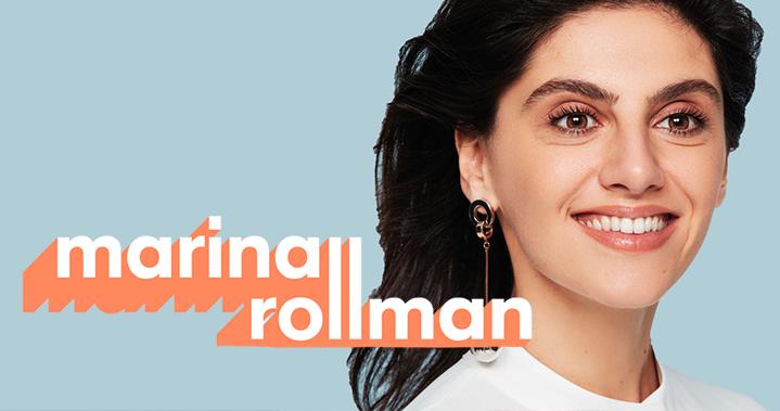Marina Rollman au théâtre de l'Œuvre, à Paris, jusqu'au 30 avril 2020.
